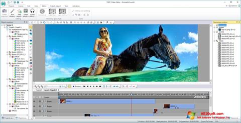 截圖 VSDC Free Video Editor Windows 10