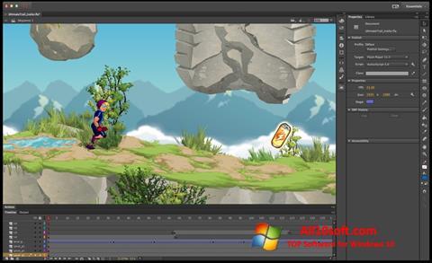 截圖 Adobe Flash Professional Windows 10