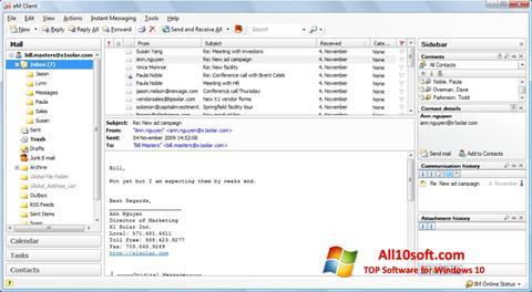 截圖 eM Client Windows 10
