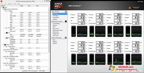 截圖 AMD Overdrive Windows 10