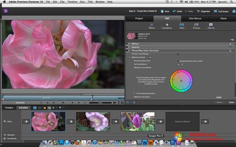 截圖 Adobe Premiere Elements Windows 10