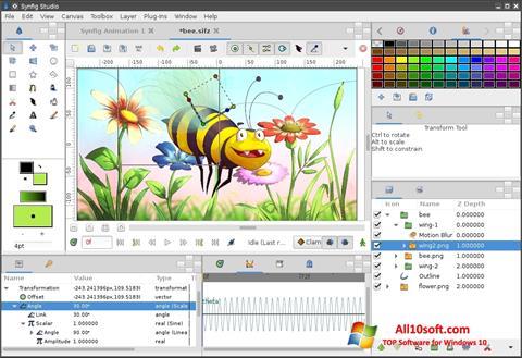 截圖 Synfig Studio Windows 10