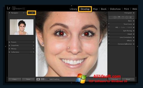 截圖 Red Eye Remover Windows 10