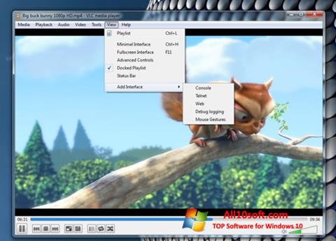 截圖 VLC Media Player Windows 10