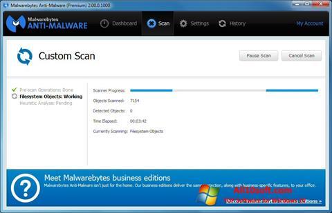 截圖 Malwarebytes Anti-Malware Free Windows 10