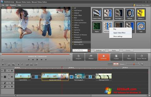 截圖 Movavi Video Suite Windows 10