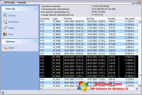 截圖 DUTraffic Windows 10