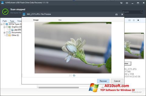截圖 USB Flash Drive Recovery Windows 10