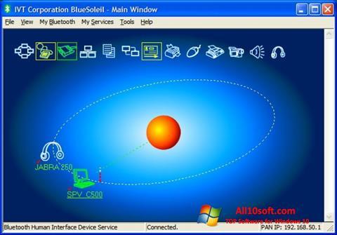 截圖 BlueSoleil Windows 10