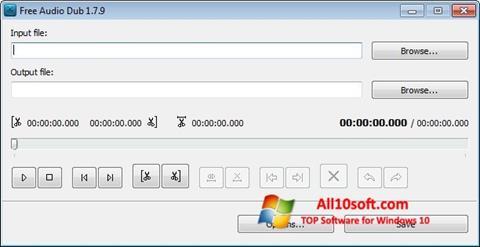 截圖 Free Audio Dub Windows 10