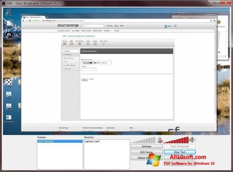 截圖 Open Broadcaster Software Windows 10