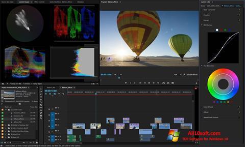 截圖 Adobe Premiere Pro CC Windows 10