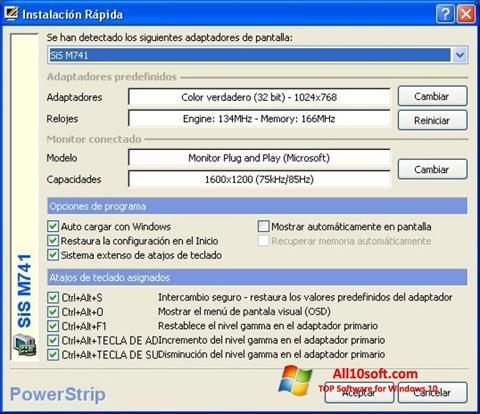 截圖 PowerStrip Windows 10