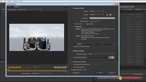 截圖 Adobe Media Encoder Windows 10