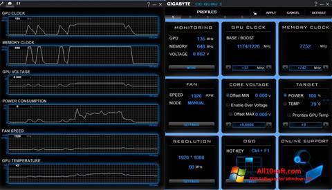 截圖 GIGABYTE OC Guru Windows 10